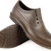 Мужские цельнолитые непромокаемые туфли на дачу, на рыбалку в грязь из Эва пена 40-45р.