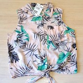Чудова блузочка на дівчинку, бренд h@m, розмір на 11-12 років
