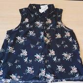Чудова блузочка на дівчинку, бренд h@m, розмір на 9-10 років
