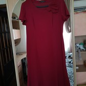 платье David Emanuel. Бирка срезанна. приблизительно XL. Cm замеры.