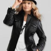 Стильная, кожаная куртка от Tchibo. Размер евро 54 ( наш 60), возможен наложенный платёж
