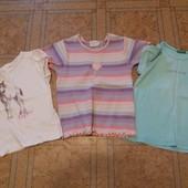 Комплект футболок на девочку