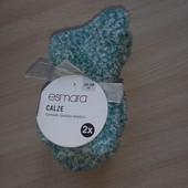 2 пары, набор пушистых носков от Esmara® Германия, размер 35-38.