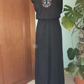 обновление товара распродажа Платье макси с вышивкой 46р турция