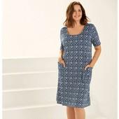 Летнее платье для пышной красоты от Esmara р.44/46 евро