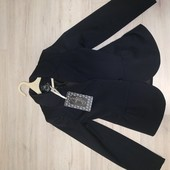 Новый крутой школьный пиджак 134р