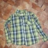 Стильная рубашка на 7-8 лет