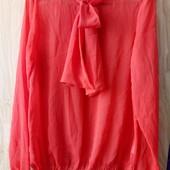 Красивая блузка с завязками