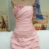 Шикарное коктейльное платье, Oriental Pearl, размер XS.