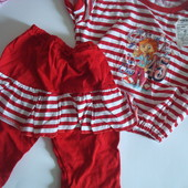 Комплект костюм летний для девочки рост 86 92 98 104 см