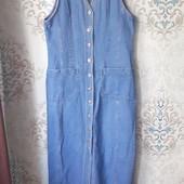 Крутой модный джинсовый сарафан с нюансом