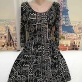 Платье с разрезом на спинке, Topshop, размер S - M.