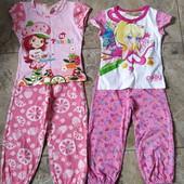 Літні костюмчики для дівчинки на зріст 98 -104.