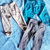 Три пары штанишек для малышей 68-74рр.