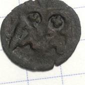Монета Королевство Польское 1 денарий 1422-1501 гг, правление Ян Ольбрахт 1 !!!