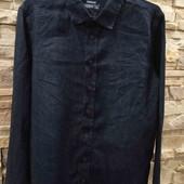 Pepperts  лёгкая джинсовая рубашка на 152 см