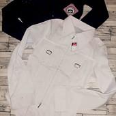 лето 2 вещи блузка новая белая+ кофточка трикотаж бирюза суперлот