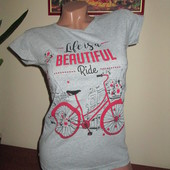 Стильна котонова футболка Розмір на вибір