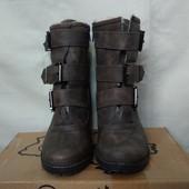 Качественные фирменные ботинки на толстом меху,еврозима,37 р