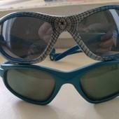 очки солнцезащитные 2пары вместе