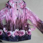 Легкая куртка-ветровка на рост 134-146