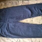 Подростковые котоновые брюки 8-12 лет