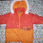Зимняя курточка 98 р