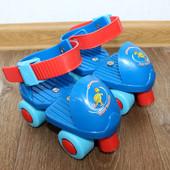 Детские раздвижные ролики 4-х колесные