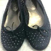 Туфли-балетки от итальянского бренда 40 р - 26 см