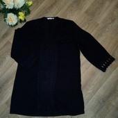 Шикарная блуза - туника с кружевом, р.52-54. Состояние новой