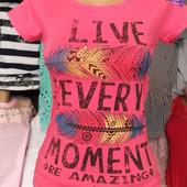 Трикотажная женская футболка ! Новая !