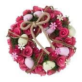 Нюанс Яркий красивый декоративный веночек Melinera