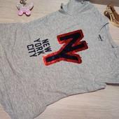 Германия!!! Классная коттоновая футболка для девочки! В лоте 146/152!