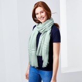Шаль-шарф для создания стильного образа от Tchibo (Германия), размер универсальный