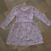 платье в Единорогах на рост 110-116 см