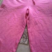 розовые брючки, размер 110 см. Финляндия, 100% коттон