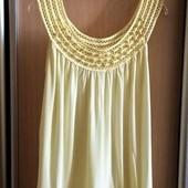 Качество!!! Итальянская солнечная блуза в новом состоянии