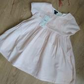 Красивое нарядное платье Kiabi от 92 и до 152 размера