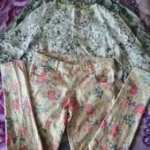 Джинсы+две блузки
