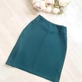 Красивая в идеале изумрудная юбка S-M