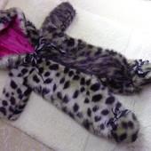 Меховой комбинезон ! для куклы Беби борн ростом 43 см.Или подобных кукол .