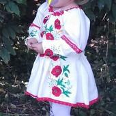 Вишите плаття, вишиванка 2-5 років