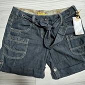 Фирменные новые коттоновые шорты под джинс р.12-14