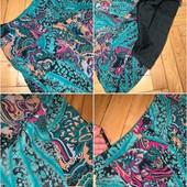 Шикарная юбка тонкий котон с подкладкой в Новом сост!! + майка/туника котон + подарок! Замеры