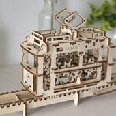 Механическая модель пазл «Трамвайчик»