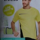 Vivess мужская функциональная футболка Lidl Crivit Германия! Размер на выбор!