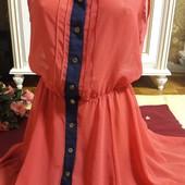 Шелковое платье рубашка Atmosphere