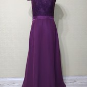 Роскошное вечернее платье р-р Л в идеальном состоянии