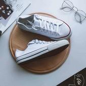 Распродажа остатков: белые кеды (37), черные слипоны (36,41), балетки (36,37) — новая обувь