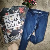 Обалденные качественные джинсы Skinny + футболка